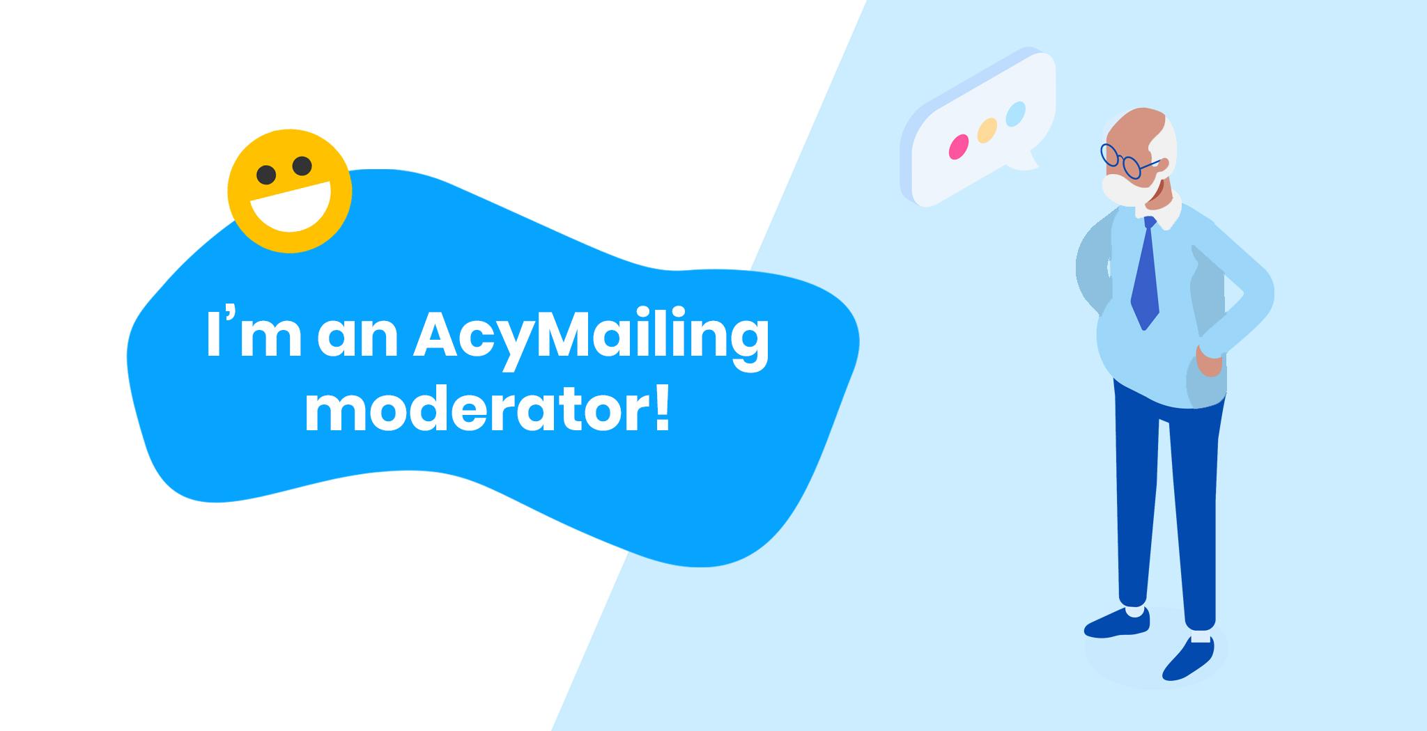 AcyMailing Forum moderator