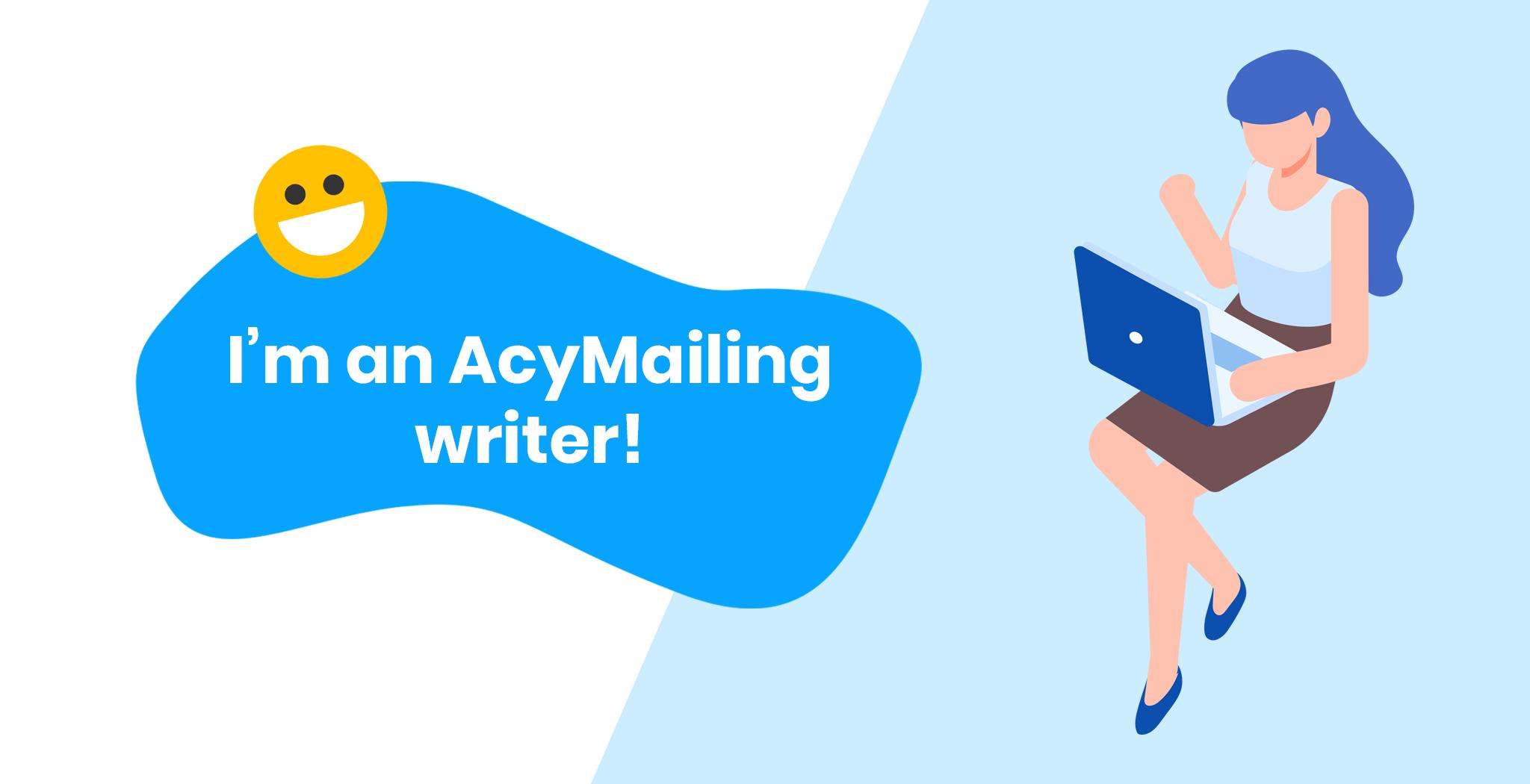 AcyMailing Writer