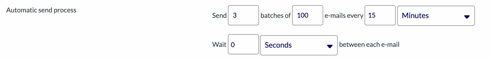 Faster Sending Process