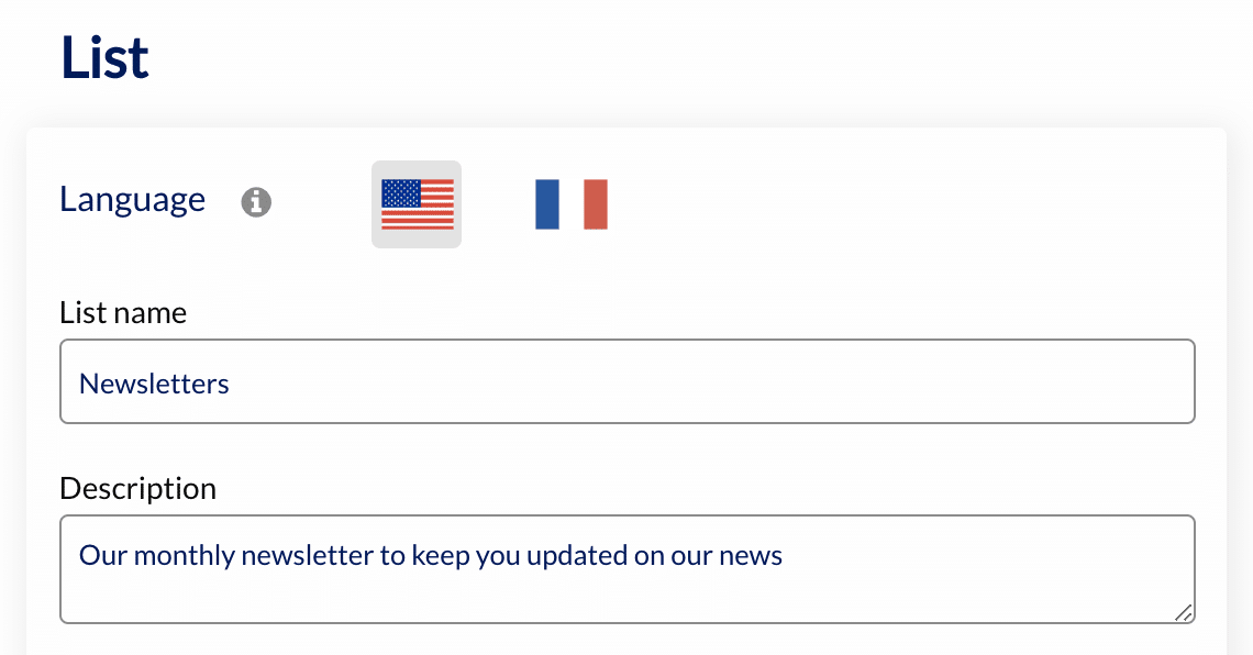 Multilingual On Mailing Lists