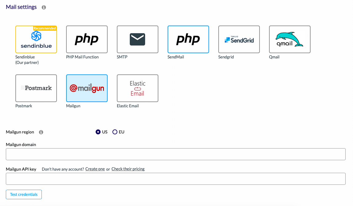 How to setup Mailgun WordPress - Mailgun Sender