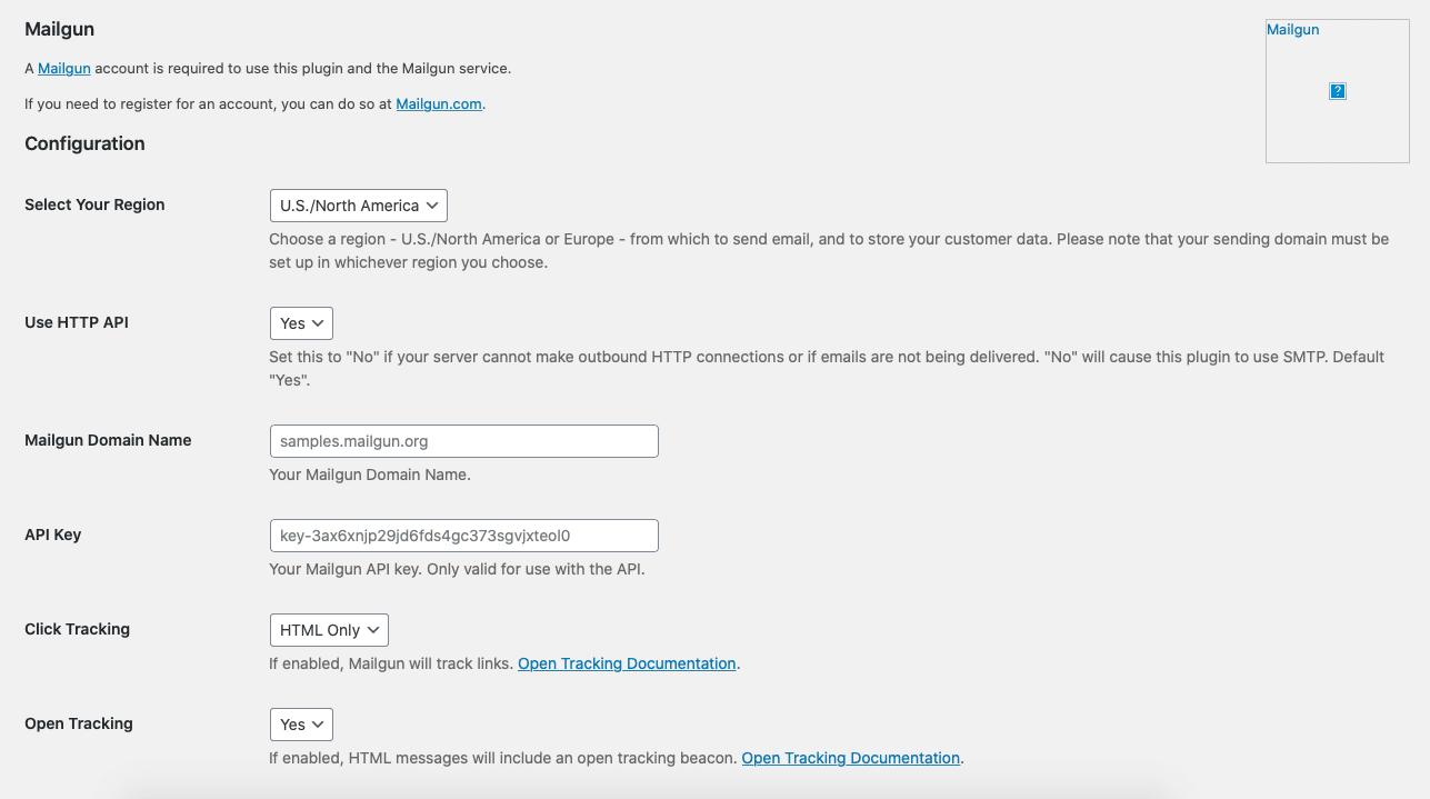 How to setup Mailgun WordPress - Mailgun plugin configuration
