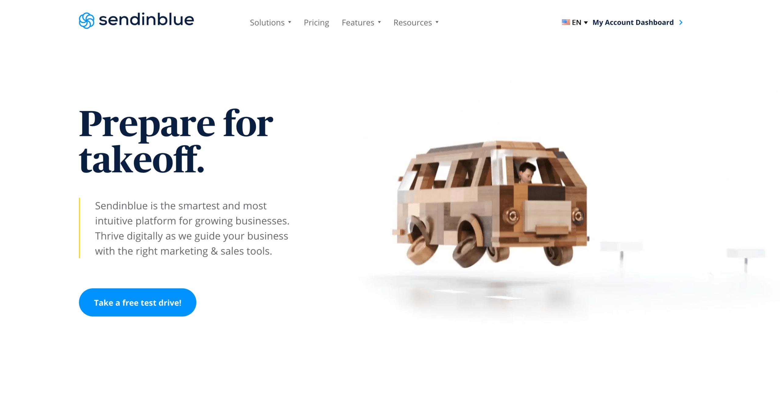 Sendinblue WordPress Dahsboard