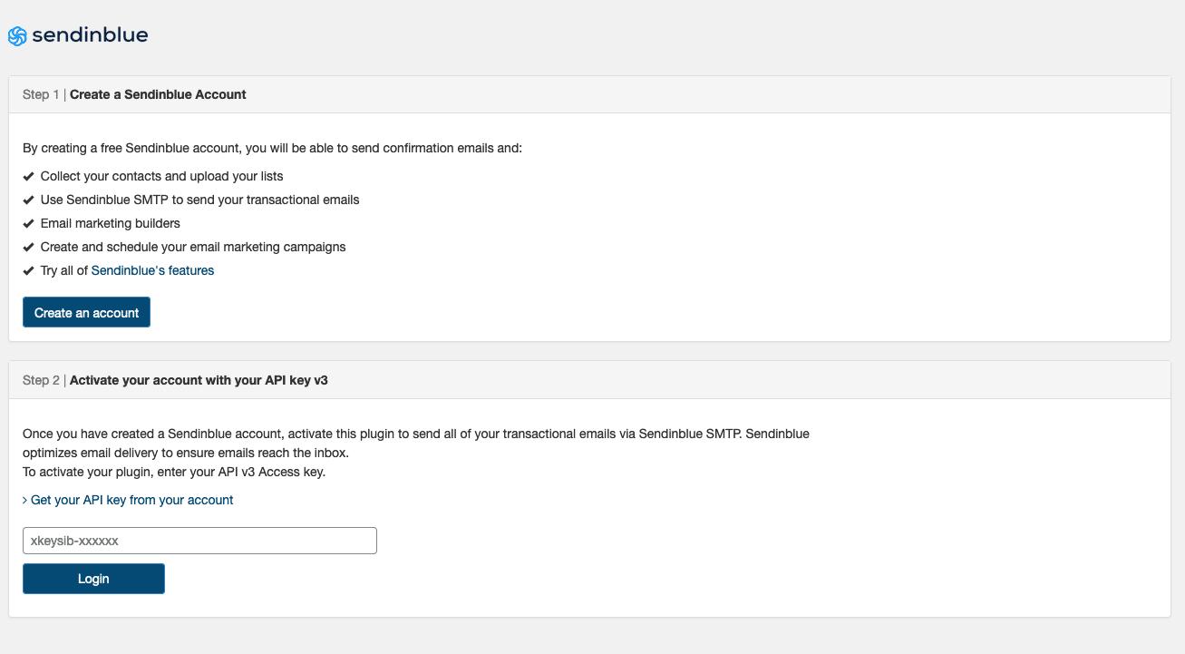 Sendinblue Wordpress Official Plugin